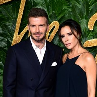 Victoria Beckham shares holiday picture with Sir Elton John