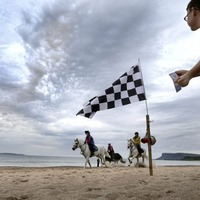Crowds gallop along to Auld Lammas Fair in Ballycastle
