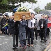 'King of Strabane' Pat Gillespie was an inspiration to all, mourners told