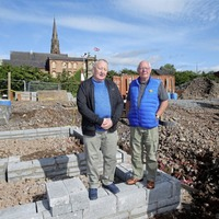 Work begins on Carrick Hill houses close to parading flashpoint
