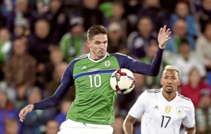 Northern Ireland omit Lafferty and McAuley for Germany game