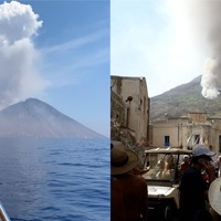 'We were awestruck' – British tourists witness Stromboli volcano explosion