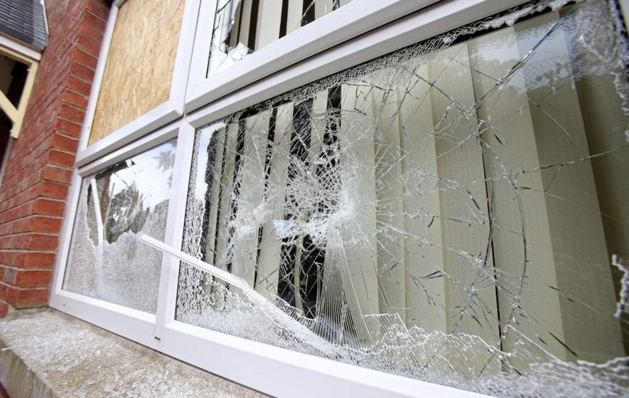 Enjoyable Windows In House Broken In East Belfast Attack The Irish News Download Free Architecture Designs Itiscsunscenecom