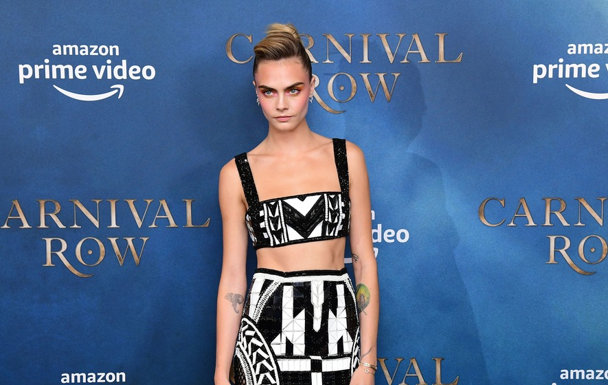Cara Delevingne Turns Heads At Carnival Row Screening The Irish News