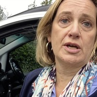 Amber Rudd silent on decision to suspend parliament