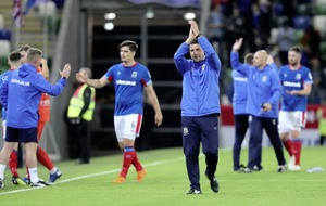 David Healy 'immensely proud' of Linfield players as they bow out of Europe