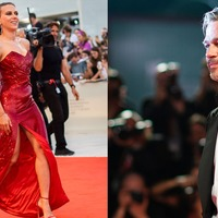 Brad Pitt and Scarlett Johansson dazzle on red carpet at Venice Film Festival