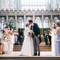 Which stars watched Ellie Goulding tie the knot?