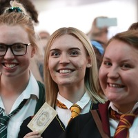Harry Potter fans descend on King's Cross to mark return to Hogwarts