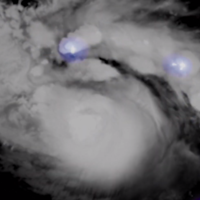 Hurricane Dorian's power illustrated by moving satellite imagery