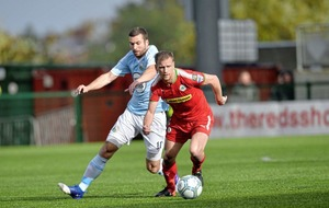 Cliftonville's attack as good as any in the Irish League - Paddy McLaughlin