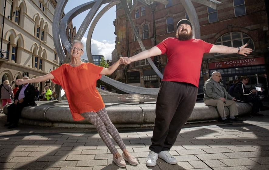 Disabled dance group celebrates a decade of dance