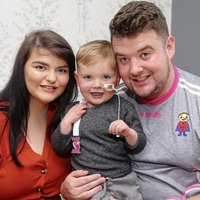 Father of west Belfast toddler joins calls for change in the law on organ donation