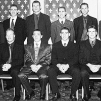 Back in the day - Diarmaid Marsden leads the Ulster Allstars - The Irish News, Sep 3 1999