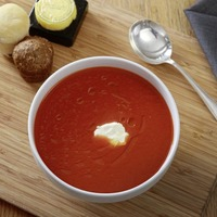 James Street Cookery School: Red pepper soup and apple and blackberry cobbler