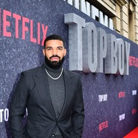 Drake hits the red carpet in London for Top Boy premiere