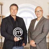 Neil Ruddock and Joey Essex serve up giant meatballs on MasterChef