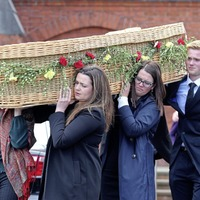 Family and friends bid farewell to 'extraordinary' peacemaker Ciaran McKeown at funeral