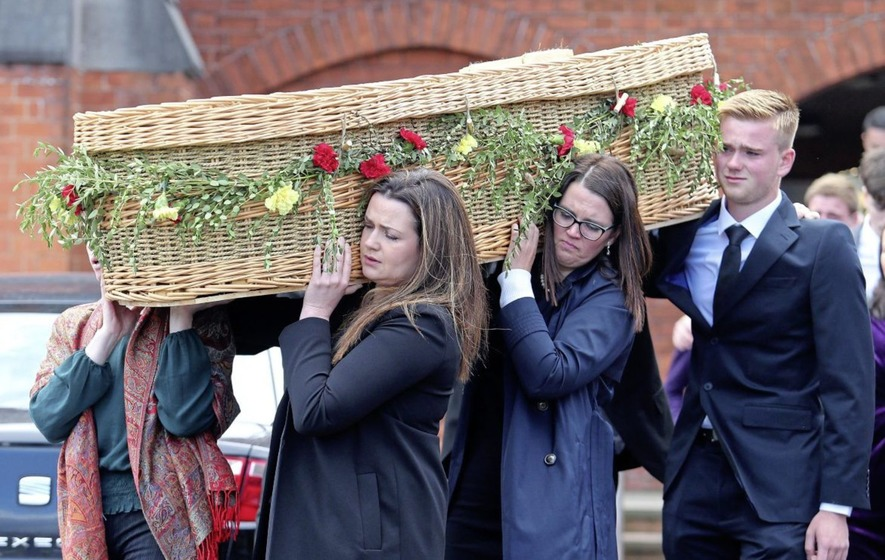 Family And Friends Bid Farewell To 'extraordinary
