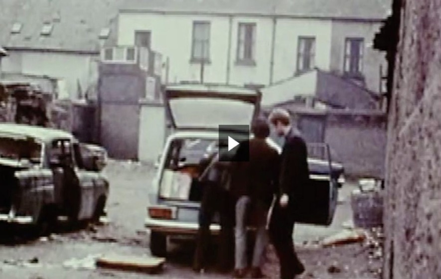 BBC Documentary Shows Martin McGuinness Overseeing Car