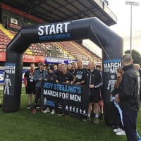 Soccer Saturday's Jeff Stelling on the march to cure prostate cancer