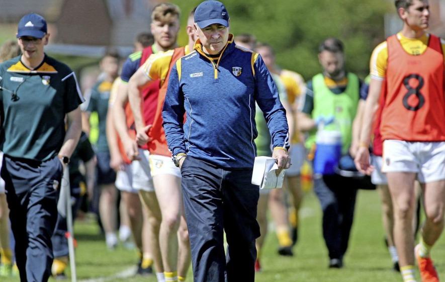 Lenny Harbinson to continue as Antrim senior football manager
