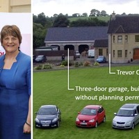 DUP's Trevor Clarke faces planning probe for triple garage built without approval
