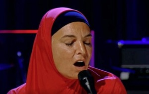 Sinéad O'Connor enjoying performing again after a five-year break