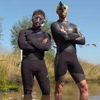 Bog snorkelling champion's delight in 'bonkers' sport