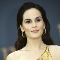 Michelle Dockery dazzles on Downton Abbey red carpet