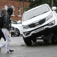 Traffic chaos after three-car crash in south Belfast