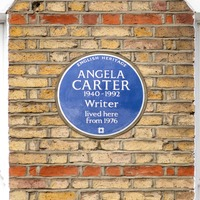 Novelist Angela Carter's home receives blue plaque