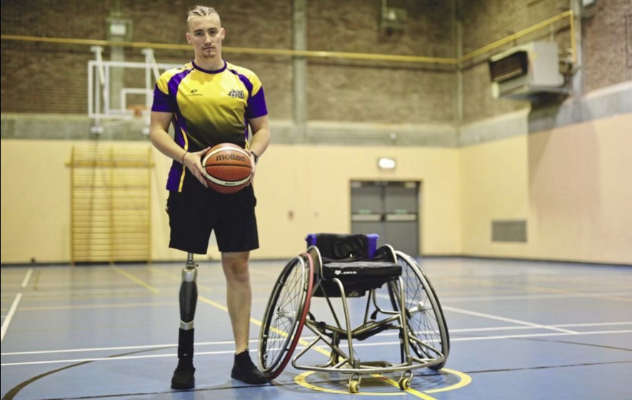 Co Antrim man who lost leg in Thailand accident appeals for sponsor to help fund wheelchair basketball dream