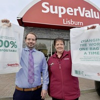 SuperValu introduces 100% compostable reusable shopping bags