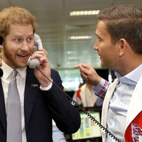 In Pictures: Harry and host of stars on call to help charity fundraising day