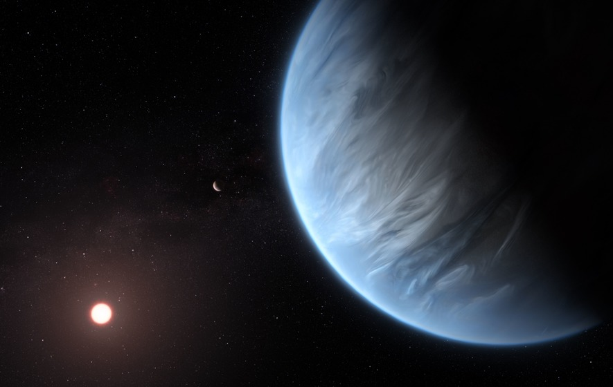 Water found for first time in atmosphere of exoplanet
