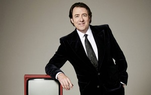 Back on the box: Chat show host Jonathan Ross says he can't believe he's still doing it