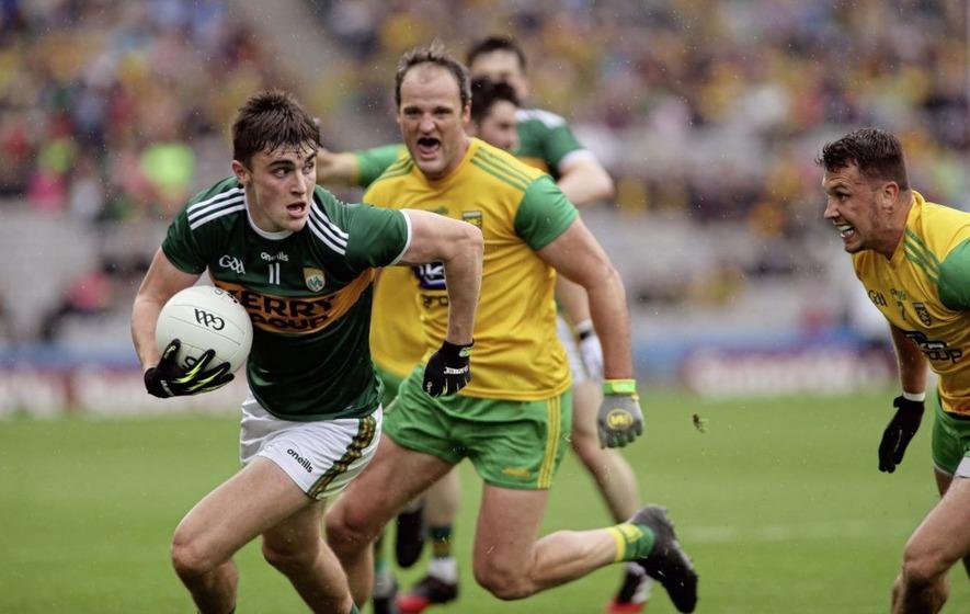 Donegal's Michael Murphy picks up Player of the Year award at Irish News Ulster Allstars
