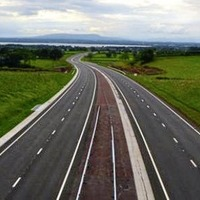 Traffic jams appear on new section of £185m road