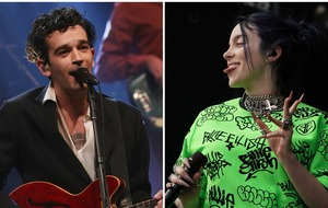 Billie Eilish and The 1975 to battle it out at Q Awards