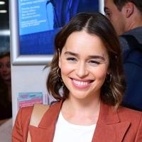 Emilia Clarke steps out in Soho