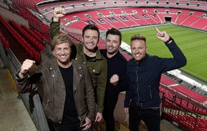 Westlife announce `once-in-a-lifetime' gig at Wembley Stadium next year