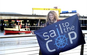 Down woman Jacinta hoping for a fair wind on climate change voyage of a lifetime