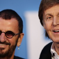 Ringo Starr and Paul McCartney record version of lost Lennon song