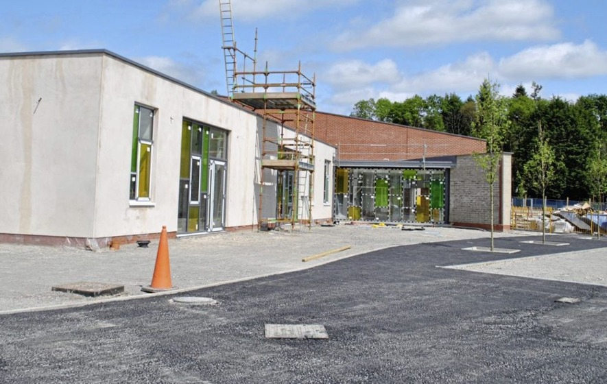 Work on Omagh shared education campus remains suspended