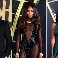 Star-studded audience for Naomi Campbell's Fashion For Relief LFW show