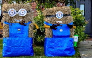 In Pictures: Village puts on a show with scarecrow festival