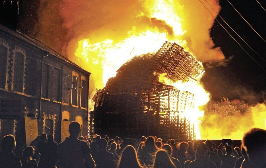 Council stumps up £190,000 for 'landscaping works' at UVF-linked bonfire site as unionists councillors say 'no' to future pyres