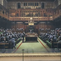 Banksy's artwork depicting MPs as chimps to go up for auction
