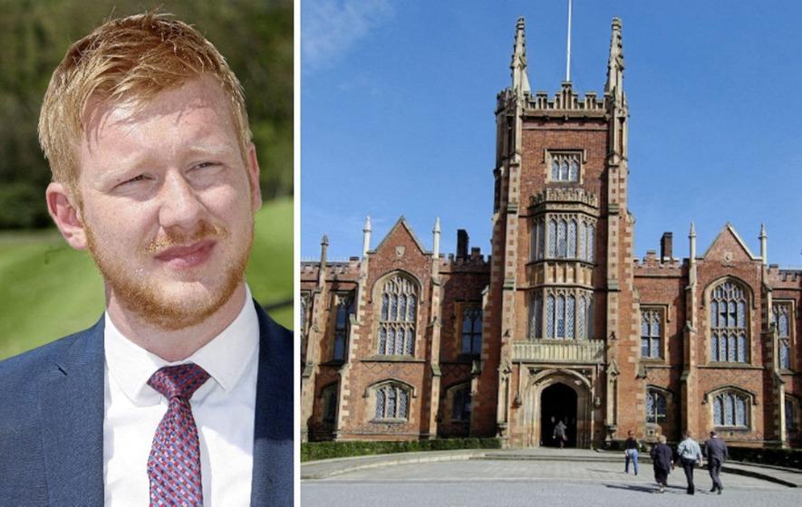 SDLP MLA Daniel McCrossan uses Stormont hiatus to return to university